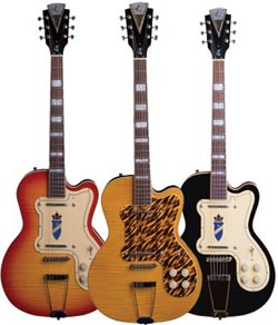 kay electric guitars
