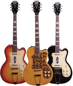 kay electric guitars