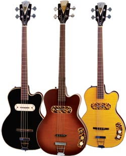 kay bass guitars